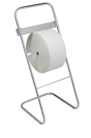 Wiper Roll Dispenser Floor Standing With Paper Towel Roll The Covid Store